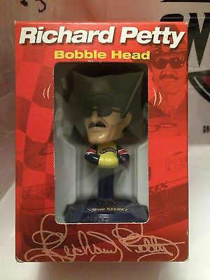 (TAS004721) - NASCAR Bobble Head Figure - Richard Petty, , Bobblehead, Nascar, The Angry Spider Vintage Toys & Collectibles Store