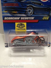 (TAS010266) - 2000 Mattel Hot Wheels Die Cast Replica - Scorchin' Scooter, , Trucks & Cars, Hot Wheels, The Angry Spider Vintage Toys & Collectibles Store  - 3