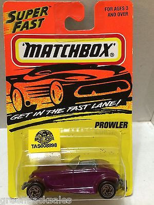 (TAS008898) - Matchbox Die-Cast Cars - Prowler, , Cars, Matchbox, The Angry Spider Vintage Toys & Collectibles Store