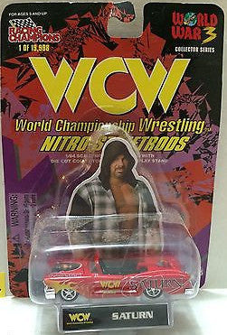 (TAS006147) - WWF WCW nWo WWE Nitro-Streetrods - Saturn, , Trucks & Cars, Racing Champions, The Angry Spider Vintage Toys & Collectibles Store