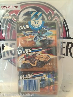 (TAS030462) - 1988 Hasbro G.I. Joe Children's Facial Tissues, , Other, G.I. Joe, The Angry Spider Vintage Toys & Collectibles Store