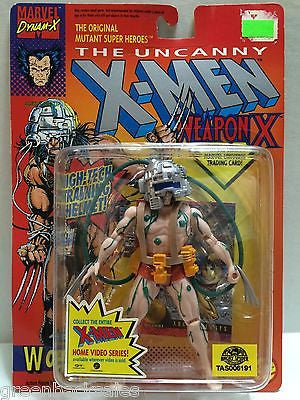 (TAS006191) - ToyBiz Marvel Comics The Uncanny X-Men Weapon X Figure - Wolverine, , Action Figure, X-Men, The Angry Spider Vintage Toys & Collectibles Store
