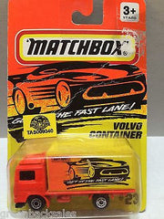 (TAS009340) - Matchbox Cars - Volvo Container, , Cars, Matchbox, The Angry Spider Vintage Toys & Collectibles Store