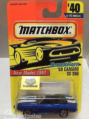 (TAS009349) - Matchbox Cars - '69 Camaro SS 369, , Cars, Matchbox, The Angry Spider Vintage Toys & Collectibles Store