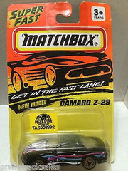 (TAS008892) - Matchbox Die-Cast Cars - Camaro Z-28, , Cars, Matchbox, The Angry Spider Vintage Toys & Collectibles Store