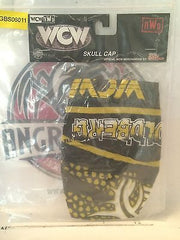 (TAS030492) - 1999 Racing Champions WCW / nWo Wrestling Skull Cap - Goldberg, , Clothing & Accessories, Wrestling, The Angry Spider Vintage Toys & Collectibles Store