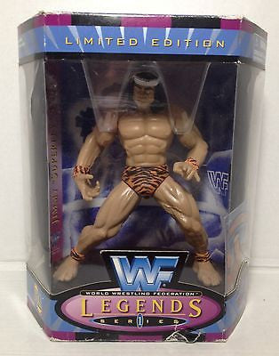 (TAS012538) - 1997 WWF WWE Legends of Wrestling Series 1 - Jimmy Snuka, , Wrestling, JAKKS Pacific, The Angry Spider Vintage Toys & Collectibles Store  - 1
