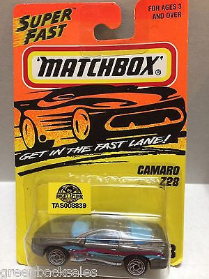 (TAS008839) - Matchbox Die-Cast Cars - Camaro Z28, , Cars, Matchbox, The Angry Spider Vintage Toys & Collectibles Store