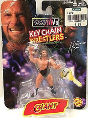 (TAS003509) - Toy Biz WCW nWo Keychain Wrestlers - Giant / Big Show, , Keychain, Wrestling, The Angry Spider Vintage Toys & Collectibles Store