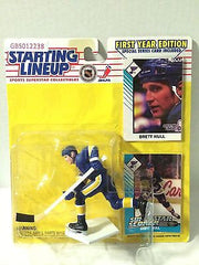 (TAS030512) - 1993 NHL Hockey Kenner Starting Lineup Figure - Brett Hull, , Action Figure, Starting Lineup, The Angry Spider Vintage Toys & Collectibles Store