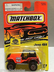(TAS009651) - Matchbox Cars - Jeep 4x4, , Cars, Matchbox, The Angry Spider Vintage Toys & Collectibles Store