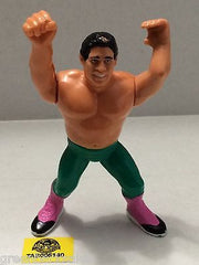 (TAS005140) - WWE WWF WCW nWo Wrestling Hasbro Action Figure - Tito Santana, , Action Figure, Wrestling, The Angry Spider Vintage Toys & Collectibles Store