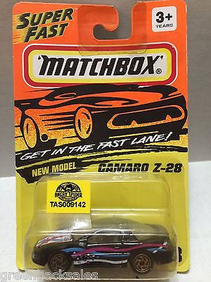 (TAS009142) - Matchbox Die-Cast Cars - Camaro Z-28, , Cars, Matchbox, The Angry Spider Vintage Toys & Collectibles Store