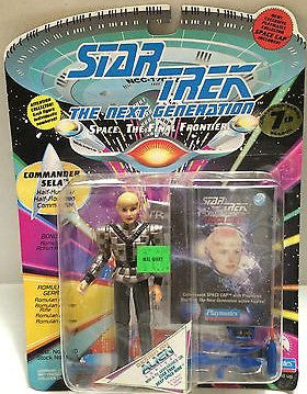 (TAS004551) - Playmates - Star Trek The Next Generation - Commander Sela, , Action Figure, Star Trek, The Angry Spider Vintage Toys & Collectibles Store