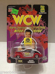(TAS009059) - 1998 Racing Champions WCW Nitro-Street Rod Car - Alex Wright, , Diecast-Modern Manufacture, Racing Champions, The Angry Spider Vintage Toys & Collectibles Store  - 3