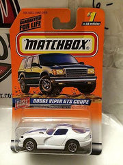 (TAS004741) - Matchbox Die-Cast Stars & Stripes - Dodge Viper GTS Coupe #1, , Cars, Matchbox, The Angry Spider Vintage Toys & Collectibles Store