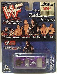 (TAS008762) - 1999 WWF Radical Rides Diecast Replica - Undertaker, , Other, Racing Champions, The Angry Spider Vintage Toys & Collectibles Store  - 1