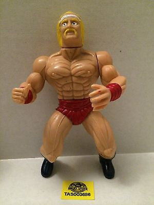 (TAS003686) - WWE WWF WCW Wrestling Generic Remco Action Figure - Hulk Hogan, , Action Figure, Wrestling, The Angry Spider Vintage Toys & Collectibles Store