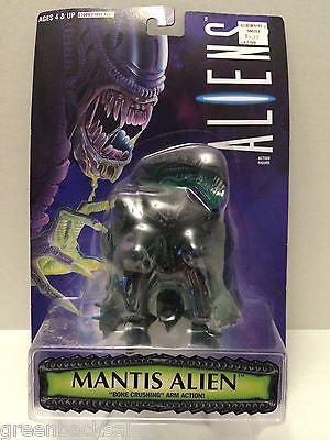 "(TAS030469) - 1996 Kenner Aliens Action Figure - Mantis Alien ""Bone Crushing"" Ar, , Action Figure, Kenner, The Angry Spider Vintage Toys & Collectibles Store"