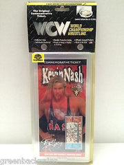 (TAS006634) - WWE WCW WWF Wrestling Commemorative Ticket - Kevin Nash, , Other, Wrestling, The Angry Spider Vintage Toys & Collectibles Store