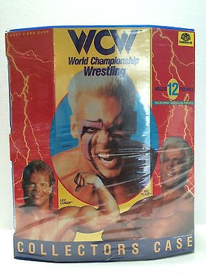 (TAS004148) - WWE WWF WCW Wrestling Collectors Case, , TV, Movie & Video Games, Wrestling, The Angry Spider Vintage Toys & Collectibles Store