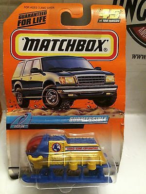 (TAS030824) - Matchbox Car - Submersible, , Cars, Matchbox, The Angry Spider Vintage Toys & Collectibles Store