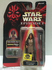 (TAS008141) - Hasbro Star Wars Episode 1 Comm Tech Clip Figure - Adi Gallia, , Action Figure, Star Wars, The Angry Spider Vintage Toys & Collectibles Store