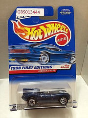 (TAS030941) - Mattel Hot Wheels Car - Jaguar D-Type, , Cars, Hot Wheels, The Angry Spider Vintage Toys & Collectibles Store