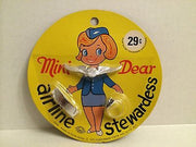 (TAS000011) - 1971 Fleetwood Toys - Mini Dear Airline Stewardess, , Clothing & Accessories, n/a, The Angry Spider Vintage Toys & Collectibles Store