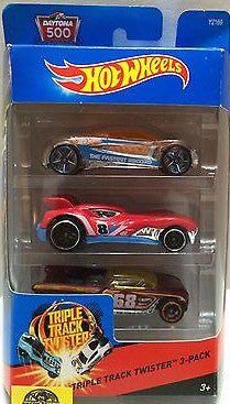 (TAS009534) - Hot Wheels Daytona 500 - Triple Track Twister 3pk, , Trucks & Cars, Hot Wheels, The Angry Spider Vintage Toys & Collectibles Store