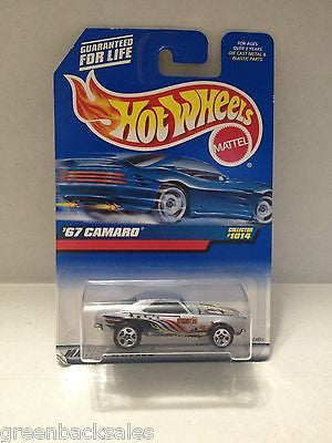 (TAS010339) - 2000 Mattel Hot Wheels Die Cast Replica - '67 Camaro, , Trucks & Cars, Hot Wheels, The Angry Spider Vintage Toys & Collectibles Store  - 1