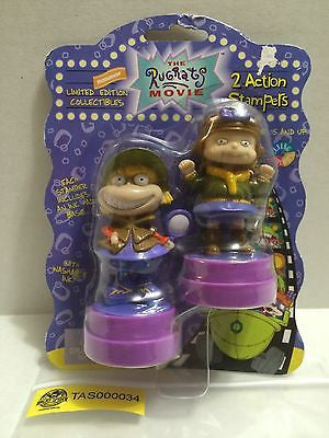 (TAS000034) - The Rugrats Movie - 2 Action Stampers, , Stampers, Nickelodeon, The Angry Spider Vintage Toys & Collectibles Store