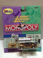 (TAS030618) - Johnny Lightning Monopoly - K-B Toys Exclusive, , Trucks & Cars, Johnny Lightning, The Angry Spider Vintage Toys & Collectibles Store