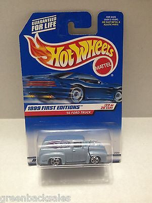 (TAS010411) - 2000 Mattel Hot Wheels Die Cast Replica - '56 Ford Truck, , Trucks & Cars, Hot Wheels, The Angry Spider Vintage Toys & Collectibles Store  - 1