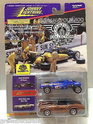 (TAS008773) -  Johnny Lightning Muscle Cars - 1970 Al Unser & Pace Car, , Trucks & Cars, Johnny Lightning, The Angry Spider Vintage Toys & Collectibles Store