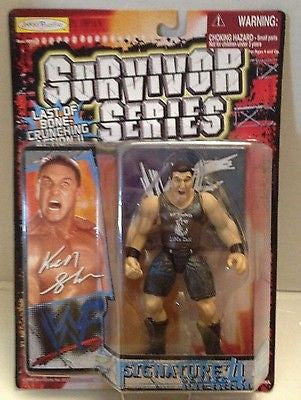 (TAS012597) - WWF WWE Wrestling Figure Jakks Survivor Series - Ken Shamrock, , Action Figure, Wrestling, The Angry Spider Vintage Toys & Collectibles Store  - 1