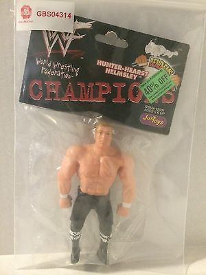 (TAS031466) - WWE WWF WCW JusToys Wrestling Bend-Ems - Hunter-Hearst Helmsley, , Action Figure, Wrestling, The Angry Spider Vintage Toys & Collectibles Store
