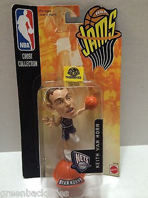 (TAS008182) - Mattel Basketball NBA Jams Figure - Keith Van Horn #44 NJ Nets, , Action Figure, NBA, The Angry Spider Vintage Toys & Collectibles Store