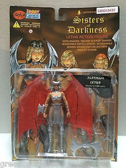 (TAS031593) - Sisters of Darkness Letha Action Figure - Platinum Letha, , Action Figure, n/a, The Angry Spider Vintage Toys & Collectibles Store