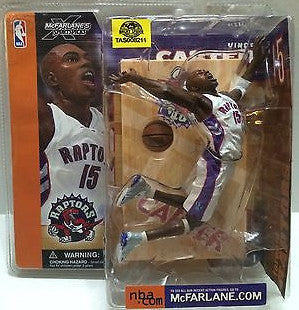 (TAS008211) - McFarlane Sports Figure - NBA Toronto Raptors Vince Carter, , Action Figure, McFarlane Toys, The Angry Spider Vintage Toys & Collectibles Store