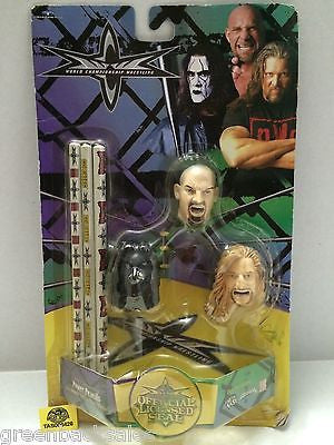 (TAS006426) - WWE WWF WCW Wrestling Power Pencils - Goldberg Nash Sting, , Pencils, Wrestling, The Angry Spider Vintage Toys & Collectibles Store
