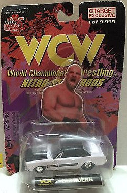 (TAS006152) - Racing Champions WCW Nitro-Streetrods 1:64 Die-Cast - Goldberg, , Trucks & Cars, Racing Champions, The Angry Spider Vintage Toys & Collectibles Store