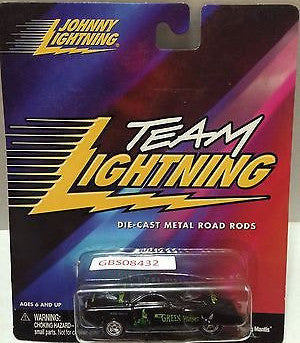 (TAS031551) - Playing Mantis Johnny Lightning Hot Rods Car - Team Lightning, , Trucks & Cars, Johnny Lightning, The Angry Spider Vintage Toys & Collectibles Store