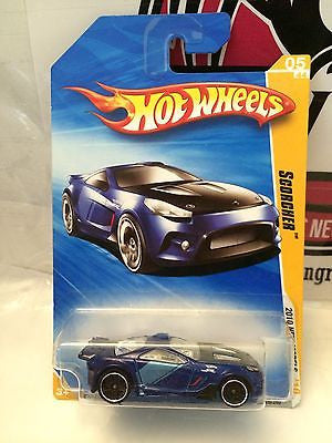 (TAS004267) - Hot Wheels - Scorcher - '10 New Models 05/44, , Cars, Hot Wheels, The Angry Spider Vintage Toys & Collectibles Store