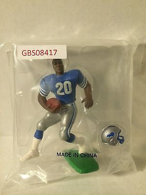 (TAS030745) - Starting Lineup NFL Figure - Barry Sanders Detroit Lions #20, , Action Figure, NFL, The Angry Spider Vintage Toys & Collectibles Store