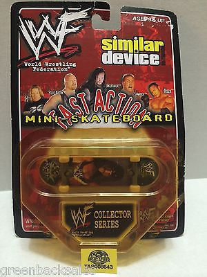 (TAS008643) - WWE Similar Device Fast Action Mini Skateboard Series - X-Pac, , Action Figure, Wrestling, The Angry Spider Vintage Toys & Collectibles Store