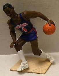 (TAS003835) - NBA Kenner Basketball Starting Line-up Action Figure - Pistons #4, , Sports, Varies, The Angry Spider Vintage Toys & Collectibles Store