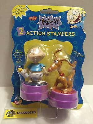 (TAS000076) - Nickelodeon Rugrats - 2 Action Stampers, , Stampers, Nickelodeon, The Angry Spider Vintage Toys & Collectibles Store