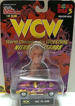 (TAS006105) - Racing Champions WCW Nitro-Streetrods 1:64 Die-Cast -Ric Flair, , Trucks & Cars, Racing Champions, The Angry Spider Vintage Toys & Collectibles Store