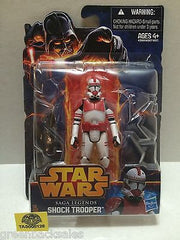 (TAS008126) - Hasbro Star Wars Saga Legends Action Figure - Shock Trooper, , Action Figure, Star Wars, The Angry Spider Vintage Toys & Collectibles Store  - 2